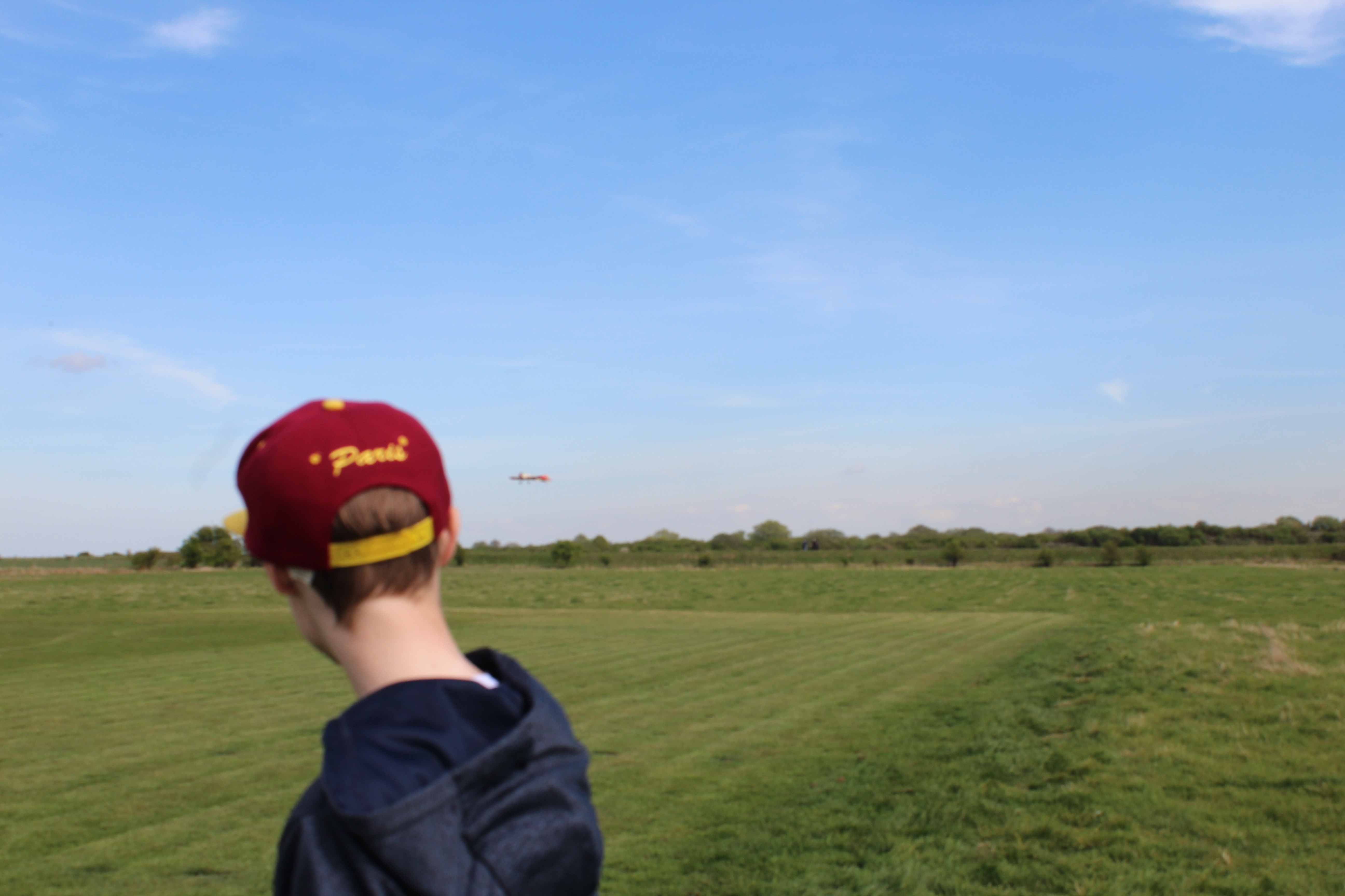 Callum on final approach